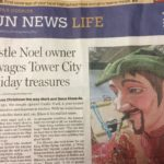 Castle Noel owner salvages Tower City holiday treasures