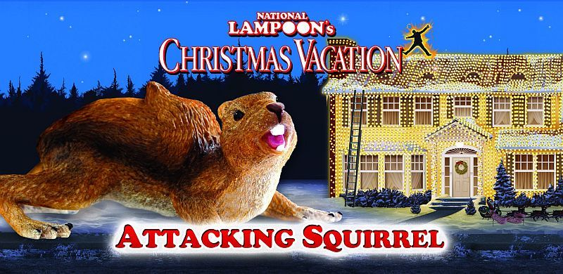National Lampoon S Christmas Vacation Squirrel