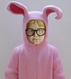 Ralphie in his Bunny Pajamas