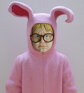 a christmas story ralphie in his bunny pajamas