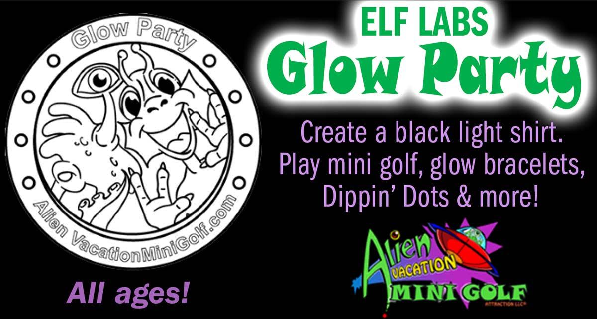 Elf Labs Glow Party Castle Noel