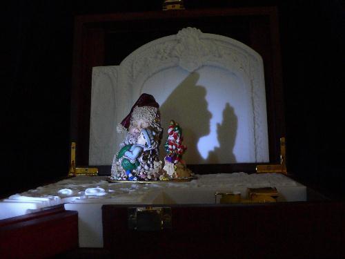 Lighted Shadow Music Box