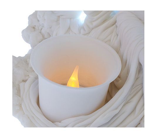The Glow of Peace Votive Angel