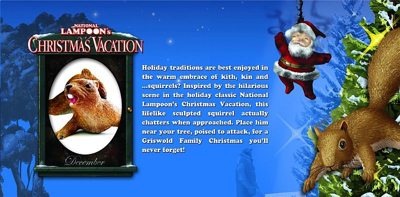 national lampoons christmas vacation squirrel - National Lampoon Christmas Vacation